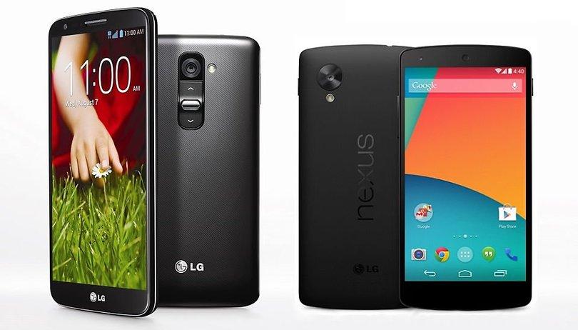 LG G2 o Nexus 5, quale comprare?