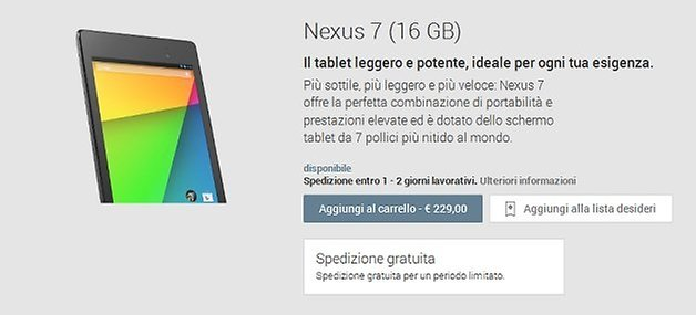 play italia nexus 7