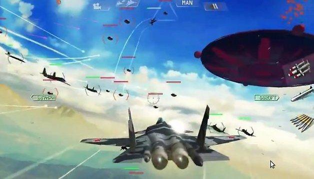 Sky Gamblers: Air Supremacy, un grande After Burner per Android