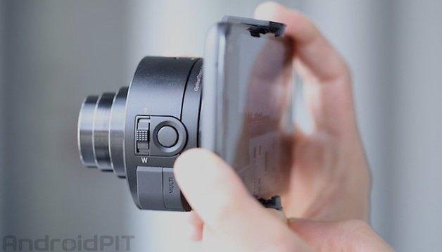 Sony Cybershot QX10, prova su strada