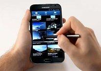 [Video] Samsung pubblica l'hands-on ufficiale del Galaxy Note