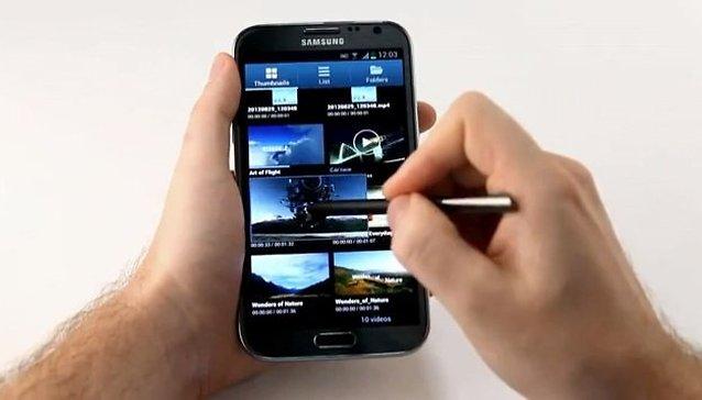 Hands-on oficial do Galaxy Note 2 pela própria Samsung