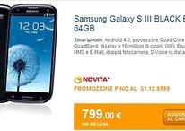 Galaxy S3 64 Gb Sapphire Black disponibile in Italia