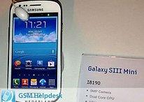 Galaxy S3 Mini, prima foto e specifiche