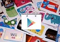Nel Play Store arrivano gift card e bookmark
