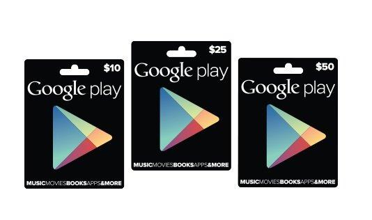 buoni regalo google play