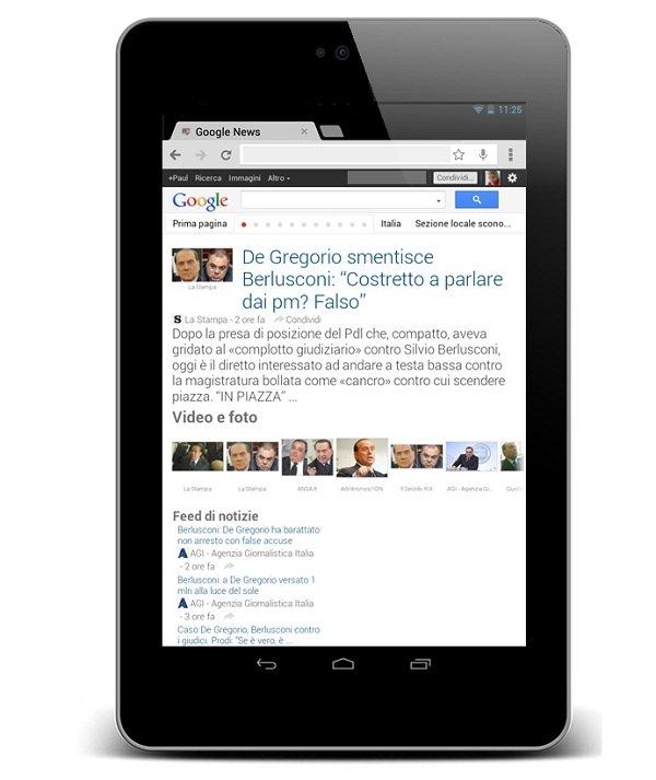 google news tablet