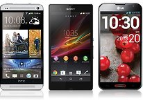 HTC One Vs Xperia Z Vs Optimus G Pro: le specifiche