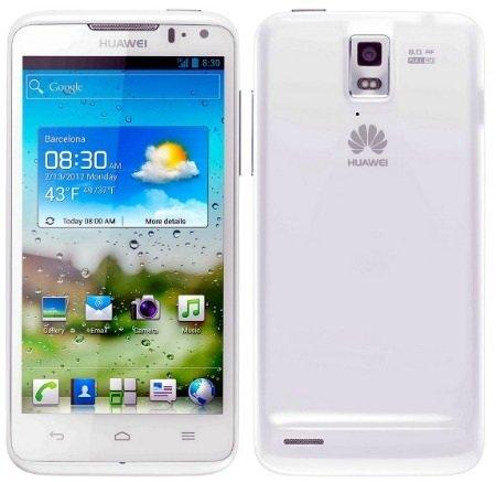 Huawei Ascend D Quad bianco
