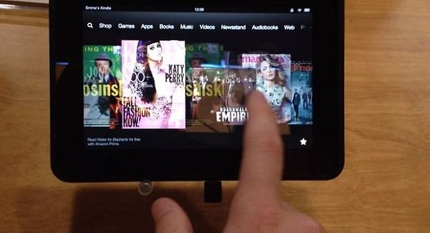 kindle fire hd lag