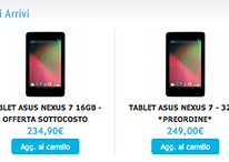 Nexus 7 32 Gb ufficiale o quasi anche in Italia a novembre