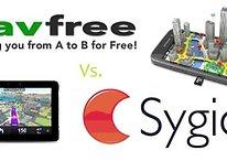 Navigatori a confronto: NavFree Vs. Sygic