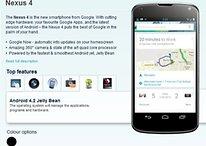Nexus 4, ecco anche il prezzo e le specifiche ufficiali