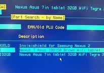 Nexus 7 da 32 Gb avvistato nell'inventario di Carphone Warehouse