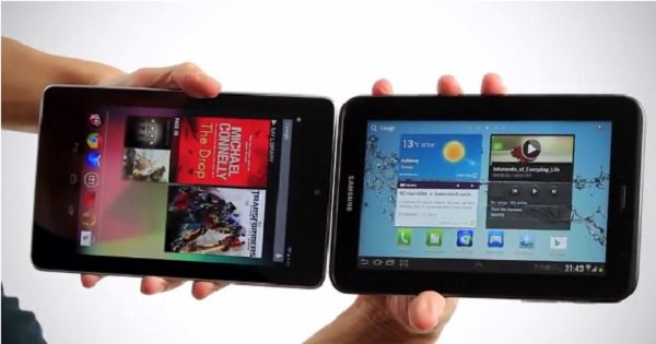 nexus 7 vs galaxy tab 2 7
