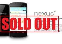Nexus 4, esaurito anche negli USA