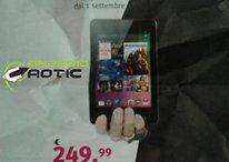 Il Nexus 7 arriva in Italia il primo settembre