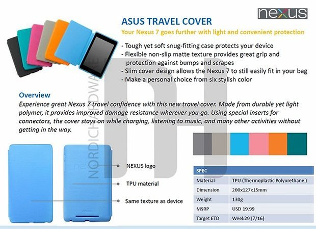 travel cover nexus 7