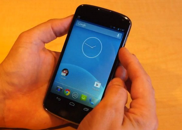 video lg nexus 4