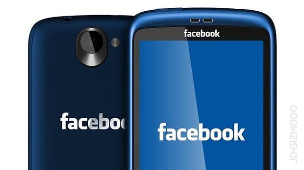 concept del facebook phone
