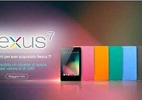 ASUS, uno sconto a chi ha pagato il Nexus 7 16 Gb a prezzo pieno