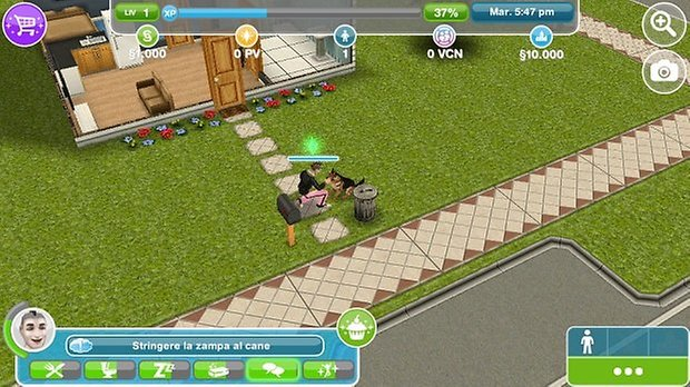 sims android 2