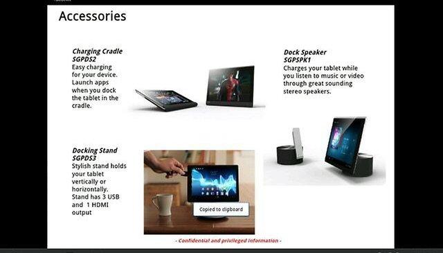 Xperia Sony Tablet: leggero, sottile e potente