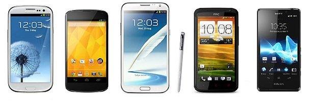 top smartphone 2012