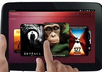 Ubuntu per tablet si mostra in video