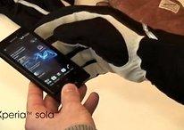 Xperia Sole, con ICS arriva anche il Glove Mode