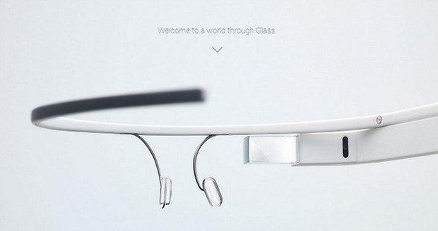 google glass white small