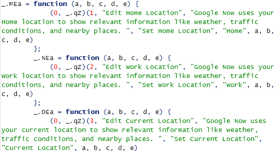 googlenowcode