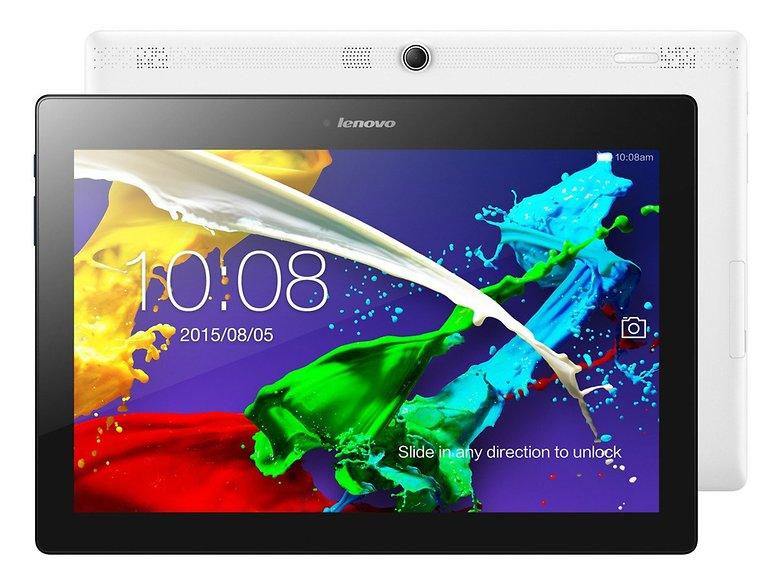 lenovo tab2a10 press