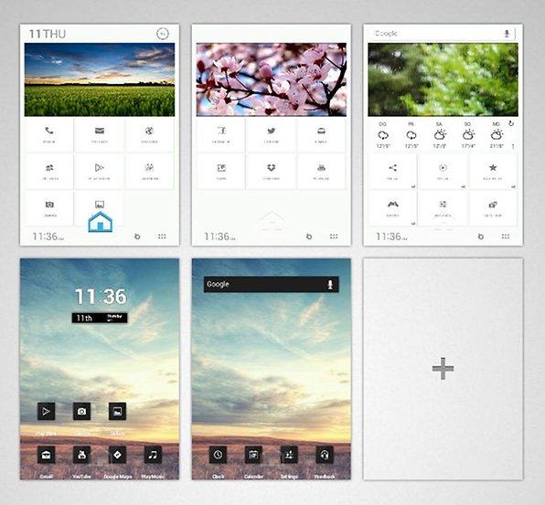 Buzz Launcher: Individuelle Homescreens ohne viel Aufwand