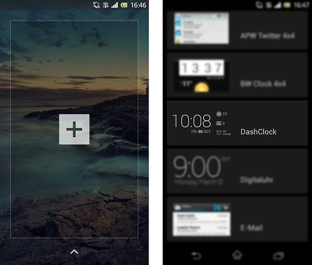 dashclock widget lockscreen