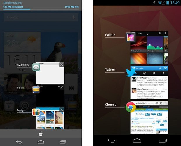 emotionui android offene apps