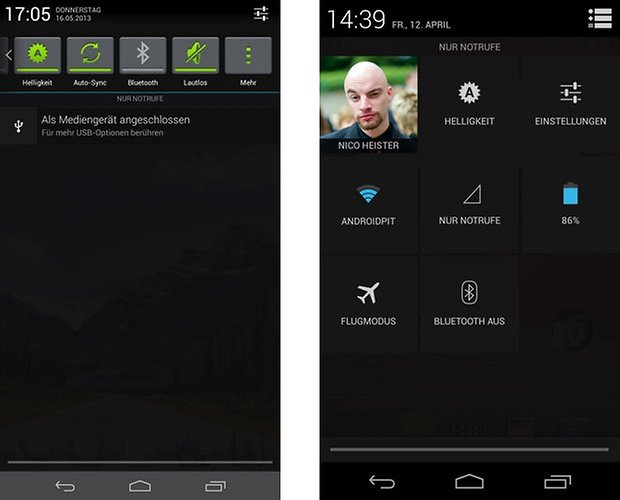 emotionui android quick settings