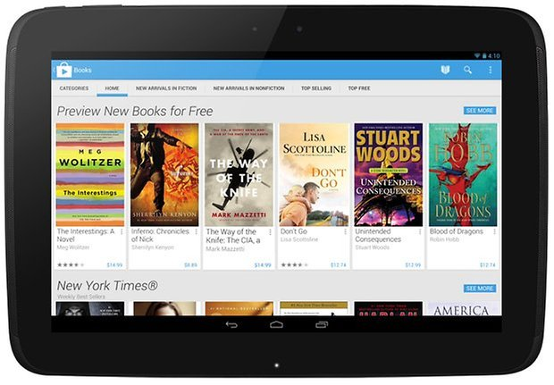 play store nexus 10