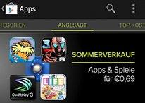 Großer Sommerverkauf im Google Play Store