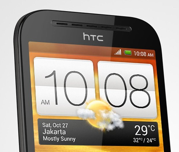 htc desire sv close up dach