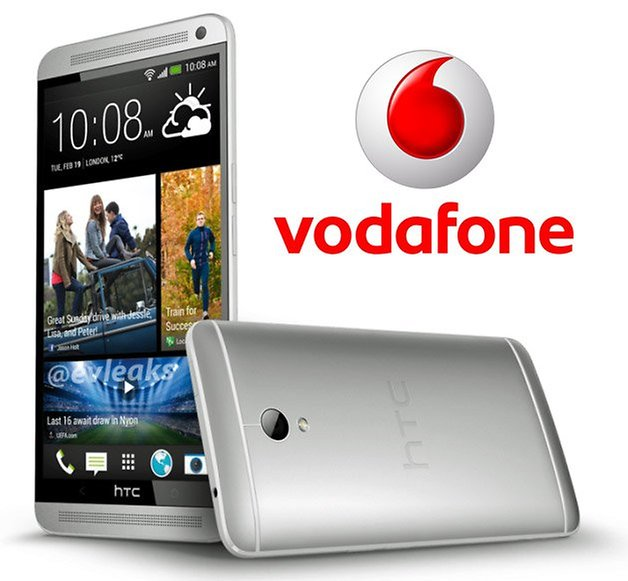 HTC One Max press render vodafone