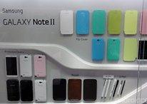 Galaxy Note 2: Zubehör auf der IFA gezeigt