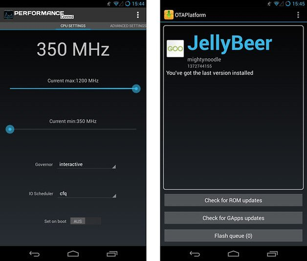jellybeer performance ota updates