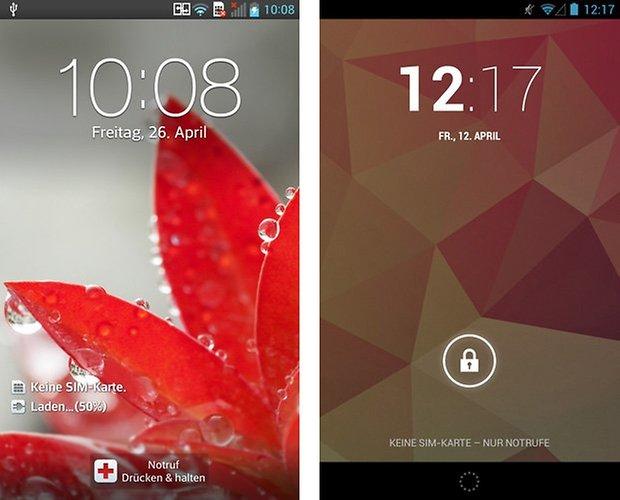 optimus android lockscreen