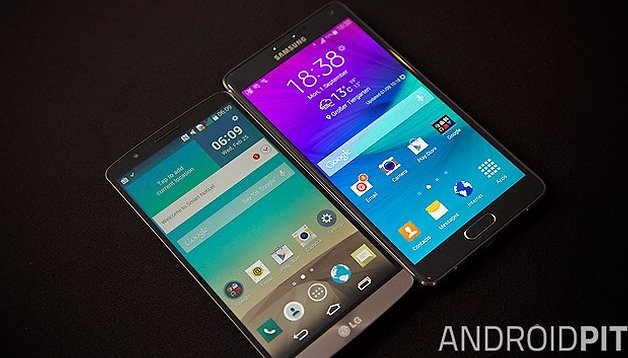 Samsung Galaxy Note 4 vs LG G3: the Android comparison of the year!