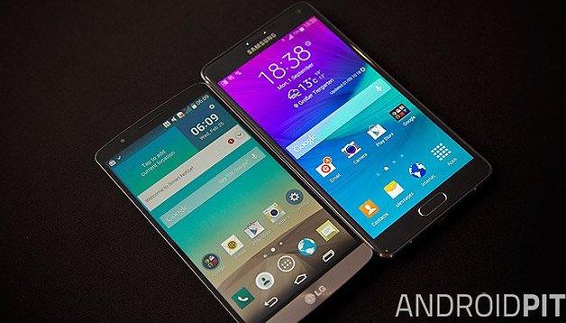 #TBT: Galaxy Note 4 vs. LG G3: relembre o duelo das telas QHD de 2014