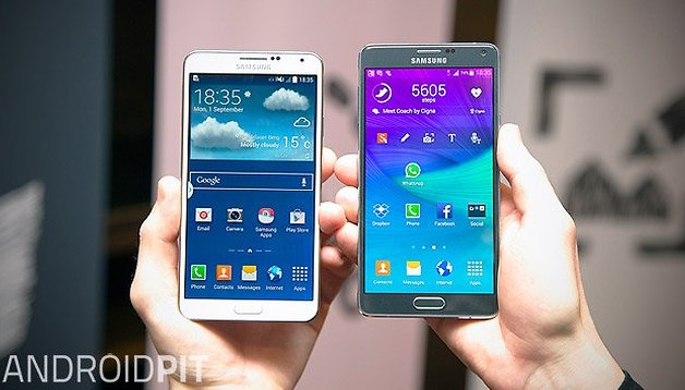 Comparación - Samsung Galaxy Note 3 vs Galaxy Note 4