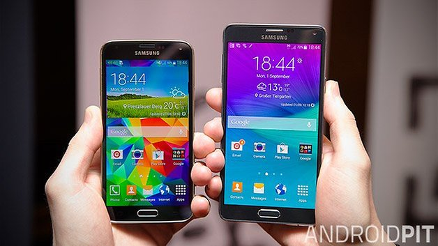 galaxy s5 note 4 teaser