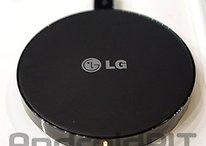 WCP-300: LG zeigt besonders kleines Drahtlosladegerät