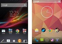 Sony Xperia UI und Stock-Android: Herstelleraufsätze im Vergleich
